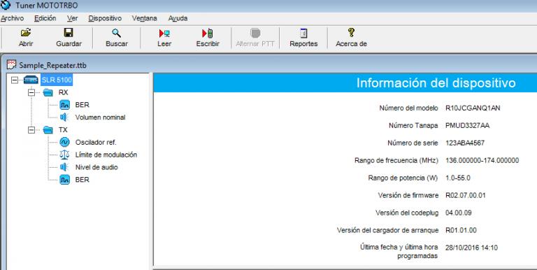 Software de Ajustes Radios Motorola Mototrbo